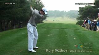 [HD SLOW] Rory McIlroy - 2011, Wood Golf Swing, tee shot(8)