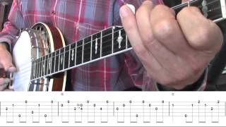Beginning Bluegrass Banjo - Lesson 19 - A simple version of Rolling In My Sweet Baby