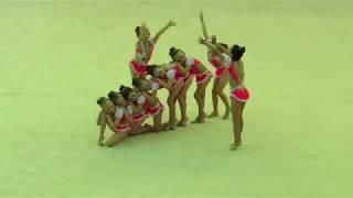 Аура-Индиго, 6-8 лет, г. Краснодар, 01.06.2018 г., соревнования по эстетической гимнастике в г.Тула
