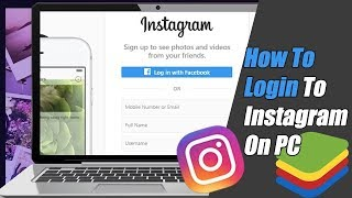 How To Login T๐ Instagram on PC | Instagram Desktop Login