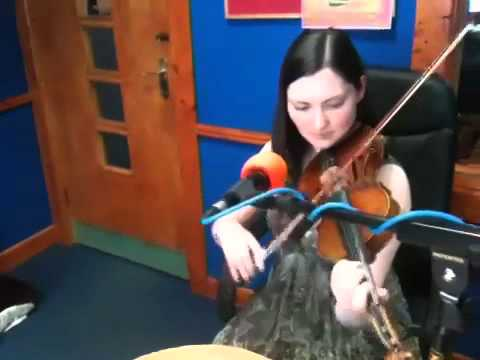 Zoe Conway performs Riverdance LIVE on Dundalk FM 1-7-11