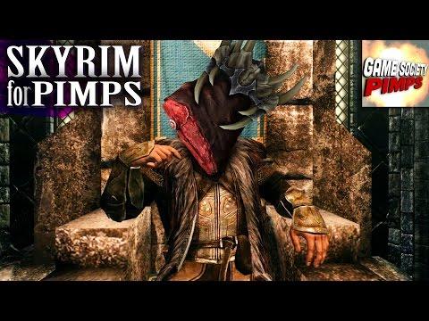 Skyrim For Pimps - Venison, King of Dinner (S6E27) - Walkthrough - GameSocietyPimps