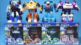 로보카폴리 또봇 C X Y W 미니 장난감 Робокар Поли Robocar Poli miniTobot robot car toys
