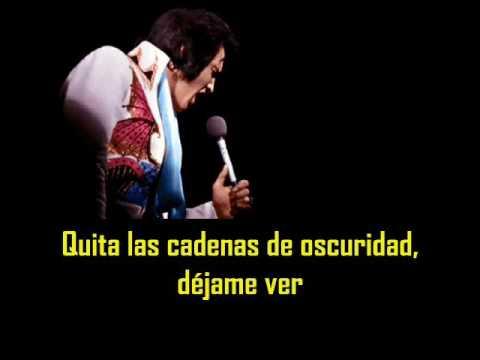 ELVIS PRESLEY - Help me ( con subtitulos en español )  BEST SOUND
