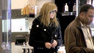 Heidi Klum and boyfriend Vito Schnabel shopping and diner Paris