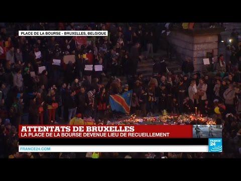 Attentats de Bruxelles : édition spéciale depuis la place de la Bourse
