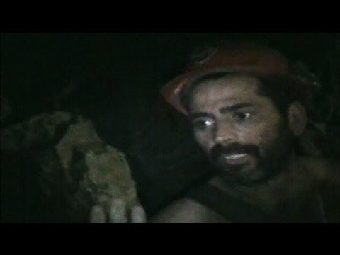 Remarkable Footage From Inside The Chilean Mine