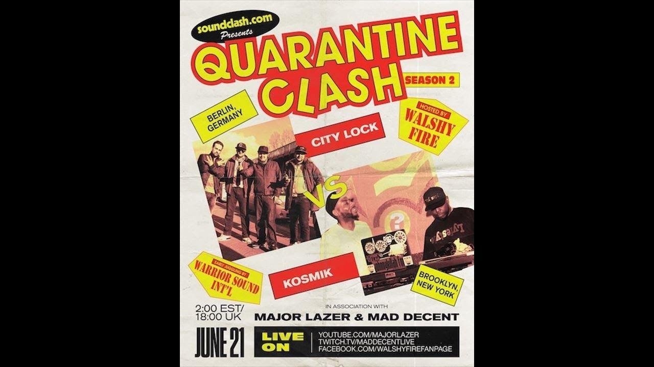 City Lock VS Kosmik Movements #quarantineclash SZN 2