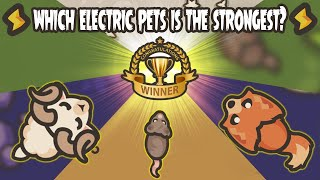 Taming.io Which Electric Pęts is The Strongest? - GAMEPLAY
