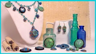 How to Make Beads and Pendents with Polymer Clay // Beginner Tutorial // Fabulous Tips!