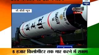 Agni-5, star attraction of DRDO tableau at R
