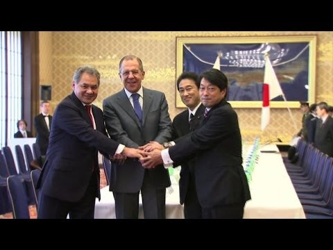 Japan, Russia hold first diplomatic-defence talks