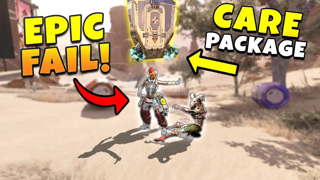*NEW* HILARIOUS FINISHER FAIL IS EPIC!  - NEW Apex Legends Funny & Epic Moments #360