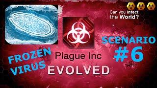 Plague Inc. Evolve - Scenariusze #6 - FROZEN VIRUS ( 3 Biohazards MEGA BRUTAL)