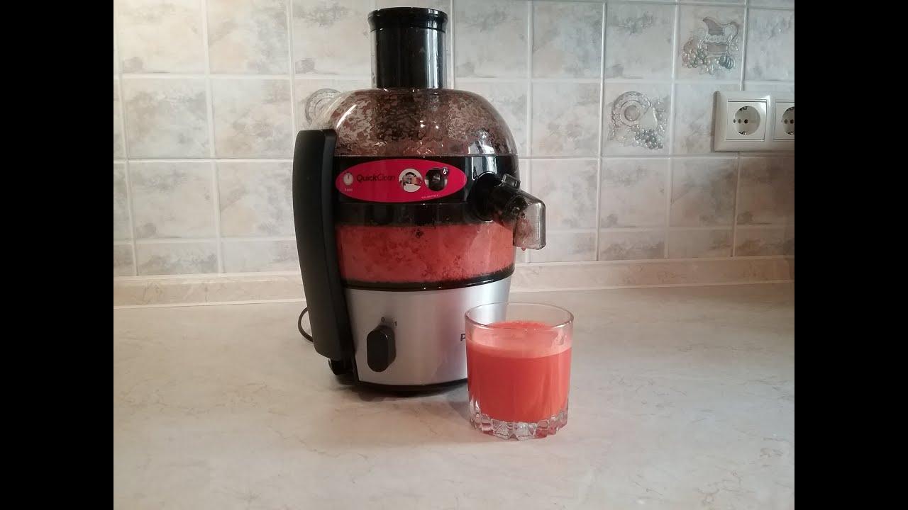 Как сделать морковный сок на соковыжималке 478