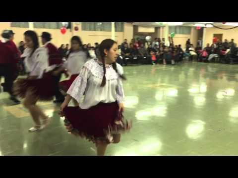 Presentación del grupo de Danza la Cumbeñita en Beverly NJ