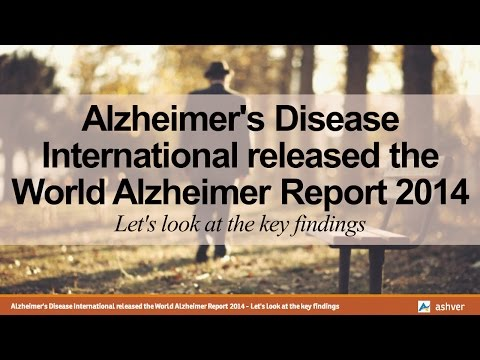 Alzheimer's Disease International released the World Alzheimer Report 2014 - the key findings