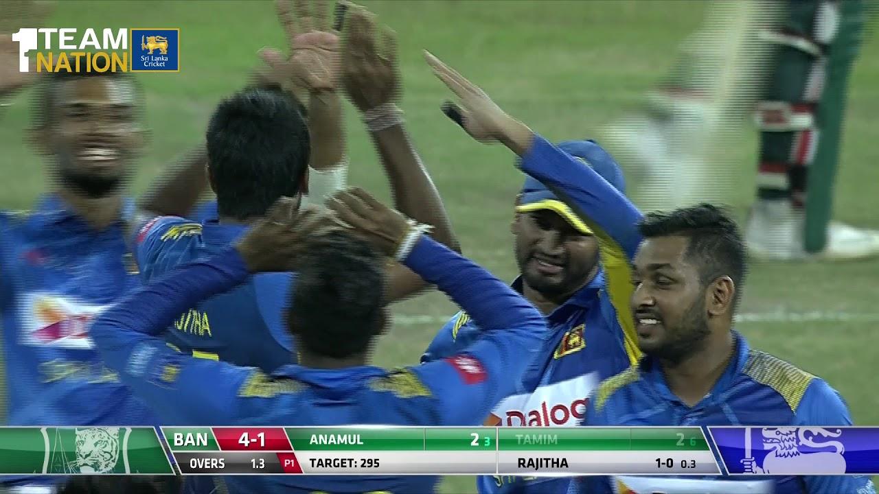Sri Lanka complete whitewash | Sri Lanka vs Bangladesh 3rd ODI - Match Highlights