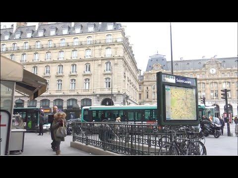 Paris ; Gare Saint-Lazare ; Passage du Havre ; Metro ; Capitale ; France