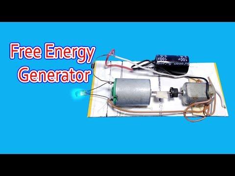 Free Energy Generator | Using Super capacitor thumbnail