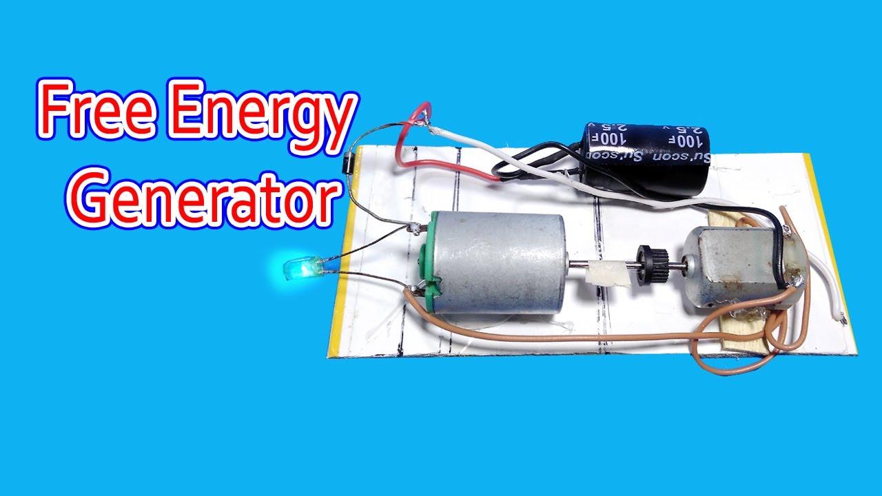 Free Energy Generator Using Super Capacitor Youtube