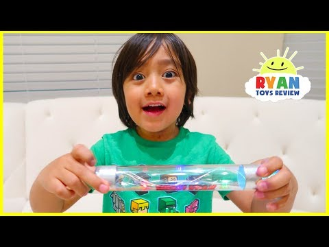 Magic Energy Stick Science Experiments for Kids with Ryan ToysReview
