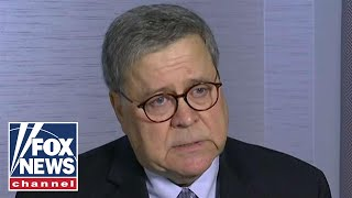 Attorney General Bill Barr: We'll let the chips fall where they may
