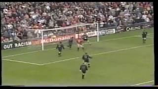 Manchester United 2 vs Wimbledon 0 - 04.04.98 Old Trafford
