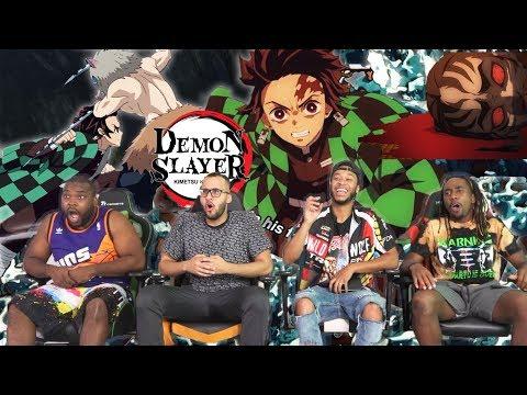 Tanjiro vs Inosuke Demon Slayer: Kimetsu No Yaiba 13 & 14 REACTIONREVIEW