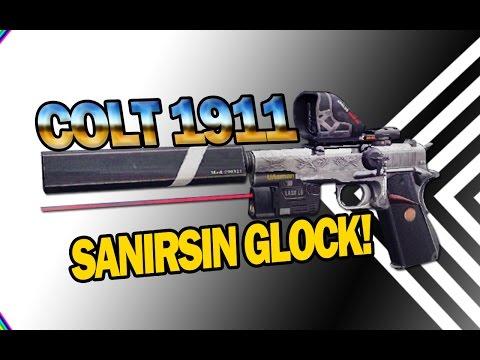 Colt 1911 - sanırsın Glock!