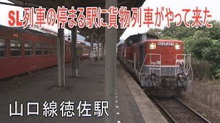 【駅に行ってきた】山口線徳佐駅はSL列車も停まる1面2線の駅
