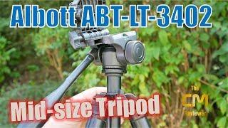 Albott Tripot ABT-LT-3402 Test: Reisestativ mit Schwenkkopf - Hands-...