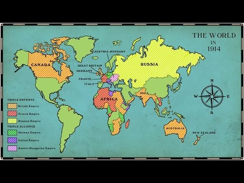 History - World War 1 - क्यूँ हुआ प्रथम विश्व युद्ध ? जानिये इतिहास हिंदी में (Part 1)- UPSC/IAS/SSC