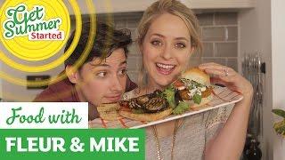 Veggie Burgers - Two Ways  Fleur & Mike