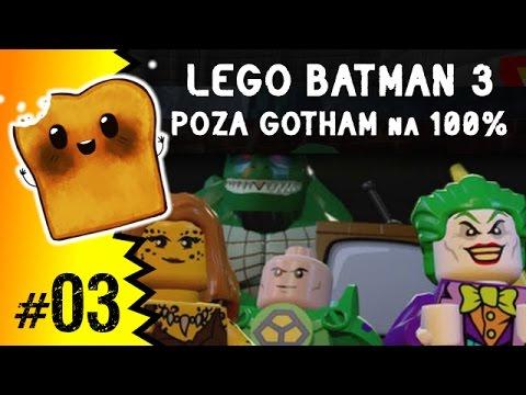 Gry po Polsku: LEGO Batman 3 Poza Gotham na 100% - Kostium na miarę kosmosu (lego gry, gry lego)