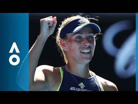 Angelique Kerber v Donna Vekic match highlights (2R) | Australian Open 2018