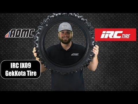 Irc 87-5429 Tire Ix-09 Gekkota Rear 110//100-18 64M Bias Tt