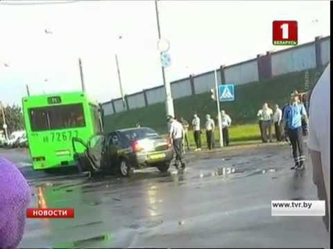 ДТП в Минске: погибли пассажирка такси и водитель
