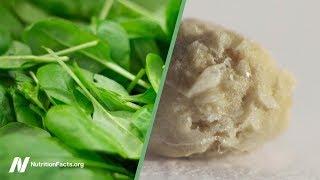 Šťavelany ve špenátu a ledvinové kameny: měli bychom si dělat starosti?