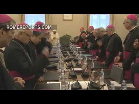 Pope Francis meets with Middle East Nuncios to discuss Jihadist violence