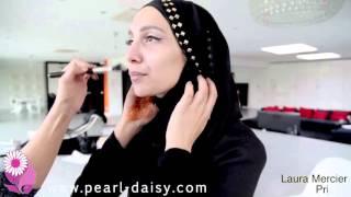 Макияж под мусульманское свадебное платье  Макияж с мусульманским свадебным платьем