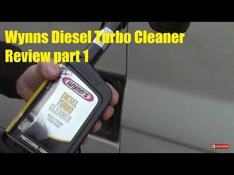Wynns Diesel Turbo Cleaner Review Part 1