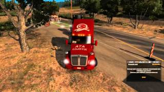ATA Lojistik-Şamil American Truck Simulator | Yol Çalışması
