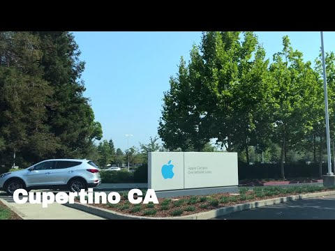 🔴  Cupertino Driving Tour 4K