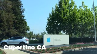 🔴  Cupertino Realtor Driving Tour 4K