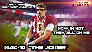 """Mac """"the joker"""" jones new single: """"back then"""" ...back then they didn't want me, now i'm hot all on me!"""