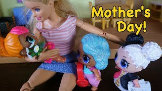 LOL SURPRISE DOLLS Cutie Tries To Come Up With A  Mother's Day Gift!