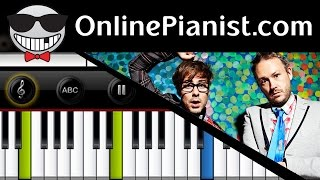 How to play Never Say Never by Basement Jaxx - Piano Tutorial Easy