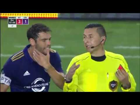 Kaka gets a funny red card in the American League