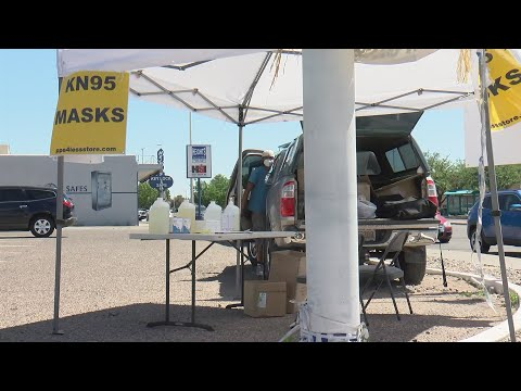 Albuquerque To Start Inspecting Roadside PPE Pop-up Shops